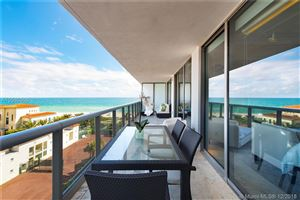 Foto de inmueble con direccion 5875 Collins Ave #805 Miami Beach FL 33140 con MLS A10580306