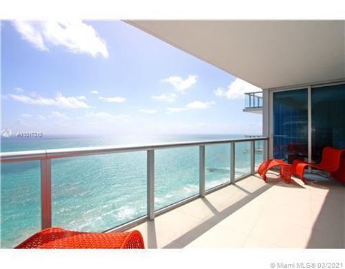 Photo of 17001 Collins Ave #3708, Sunny Isles Beach, FL 33160 (MLS # A11017310)