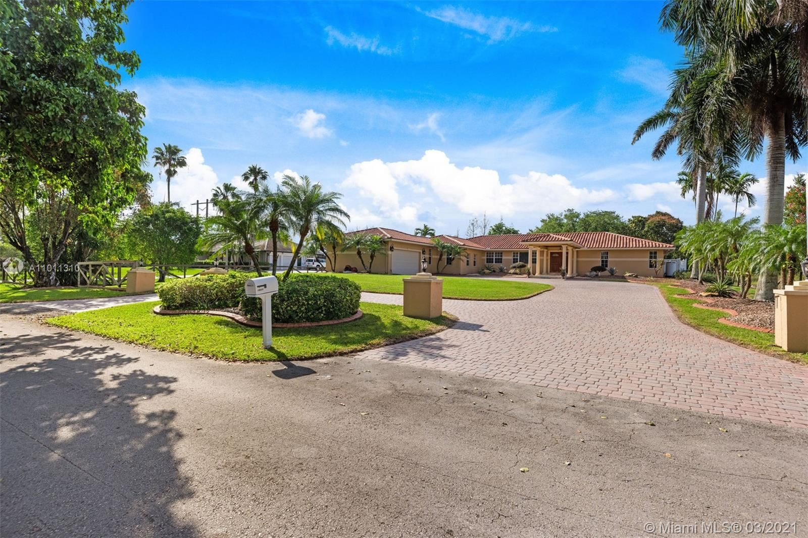 15830 SW 53rd CT, SouthWest Ranches, FL 33331 - #: A11011310