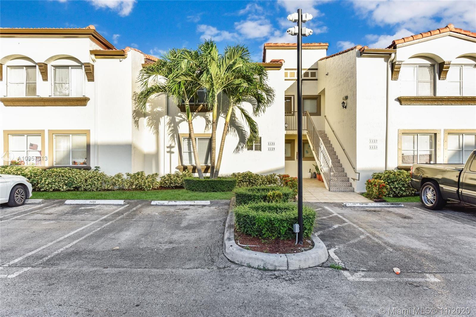 1129 NW 125th Path #104, Miami, FL 33182 - #: A10957313