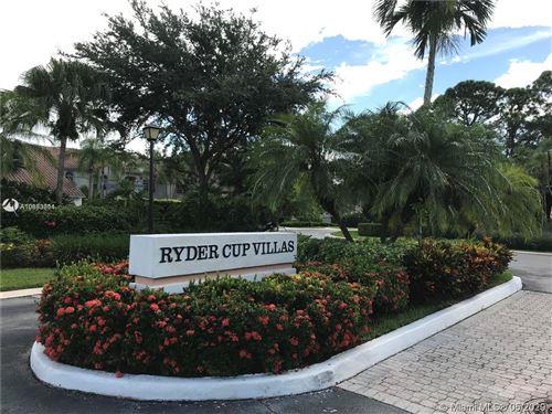 Photo of 104 S Ryder Cup Cir S #104, Palm Beach Gardens, FL 33418 (MLS # A10853314)