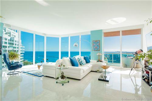 Photo of 300 S Pointe Dr #2101, Miami Beach, FL 33139 (MLS # A10982314)