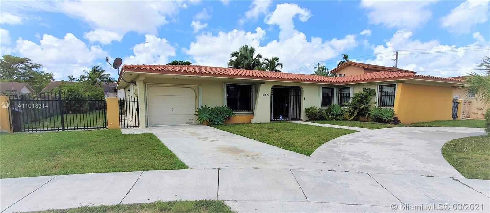 1000 SW 87th Ct, Miami, FL 33174 - #: A11018314
