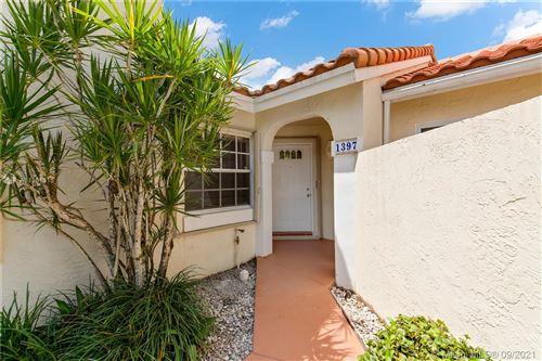 Photo of 1397 Springside Dr #1397, Weston, FL 33326 (MLS # A11101315)