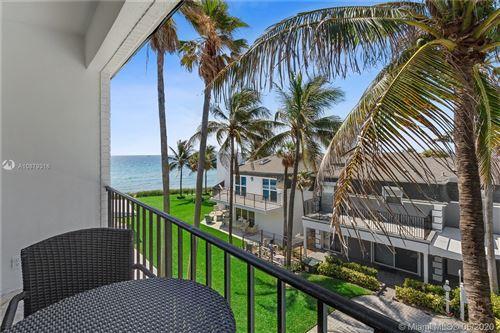 Photo of 1194 Hillsboro Mile #5, Hillsboro Beach, FL 33062 (MLS # A10879316)