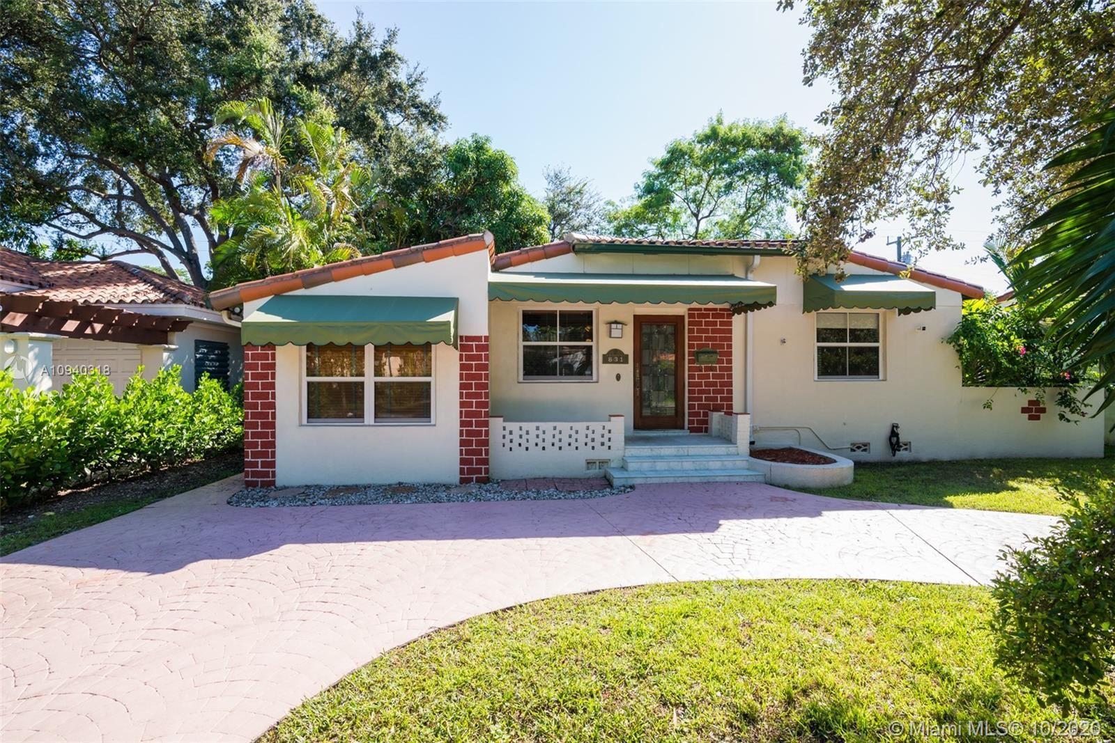 831 Monterey St, Coral Gables, FL 33134 - #: A10940318