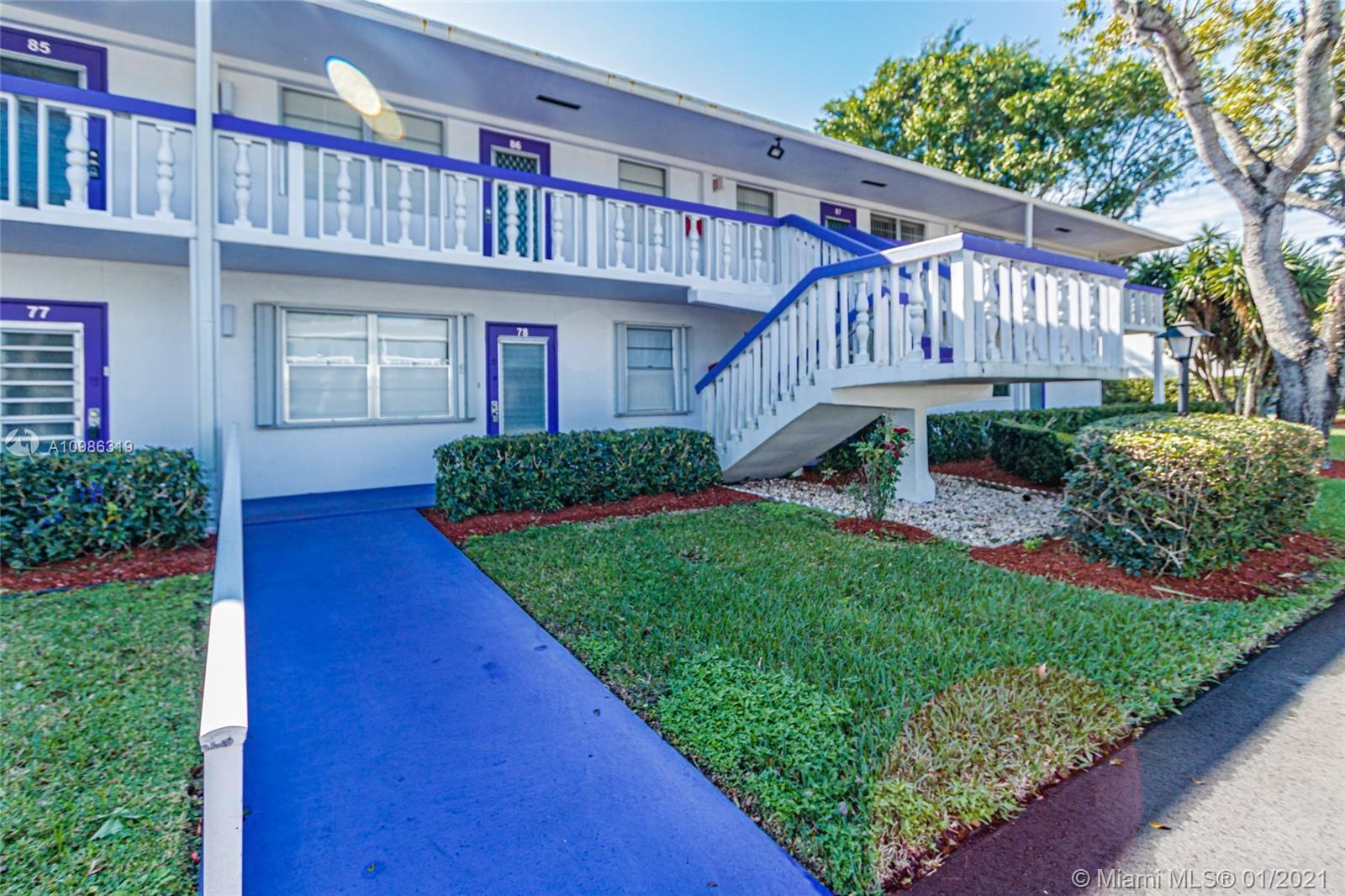87 E Newport E #87, Deerfield Beach, FL 33442 - #: A10986319