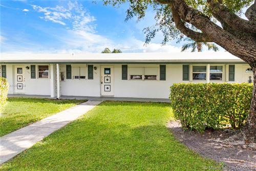 Photo of 100 Leisure Lake Cir #107, Boynton Beach, FL 33426 (MLS # A10998324)