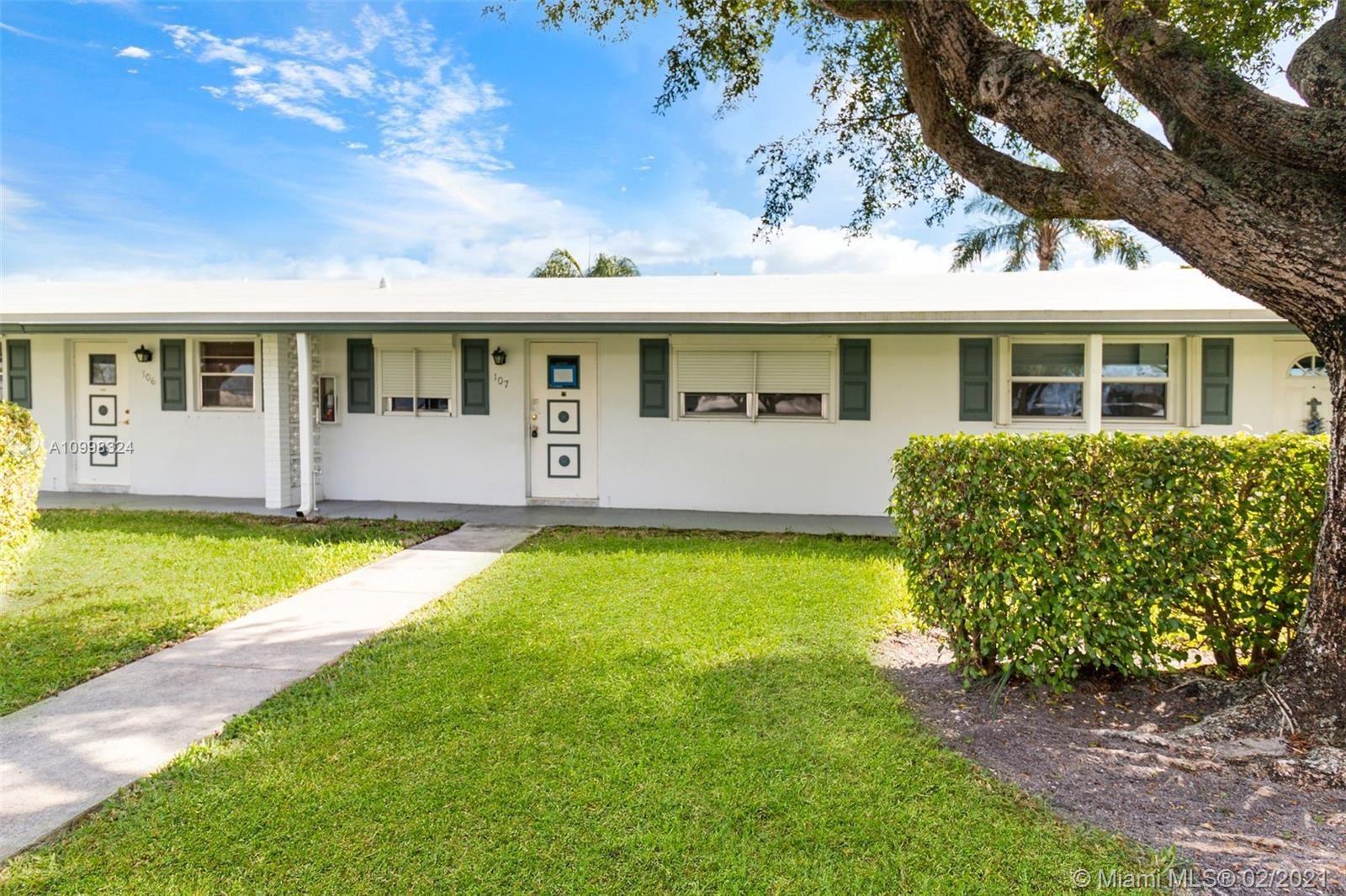 100 Leisure Lake Cir #107, Boynton Beach, FL 33426 - #: A10998324