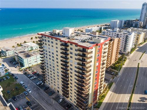 Photo of 1501 S Ocean Dr #1402, Hollywood, FL 33019 (MLS # A11026325)