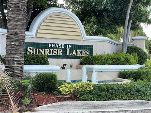 Photo of 10155 NW 24th Pl #405, Sunrise, FL 33322 (MLS # A11078326)