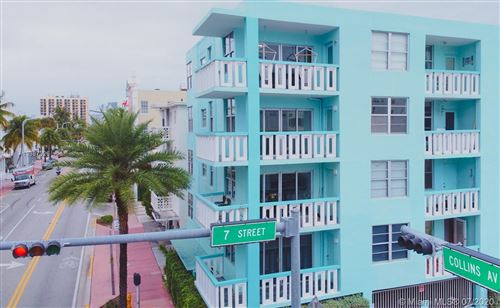 Photo of 701 Collins Ave #3A, Miami Beach, FL 33139 (MLS # A10887329)