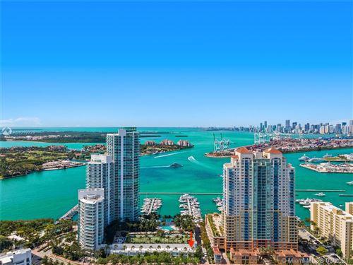 Photo of 1000 S Pointe Dr #TH-A10, Miami Beach, FL 33139 (MLS # A11019329)