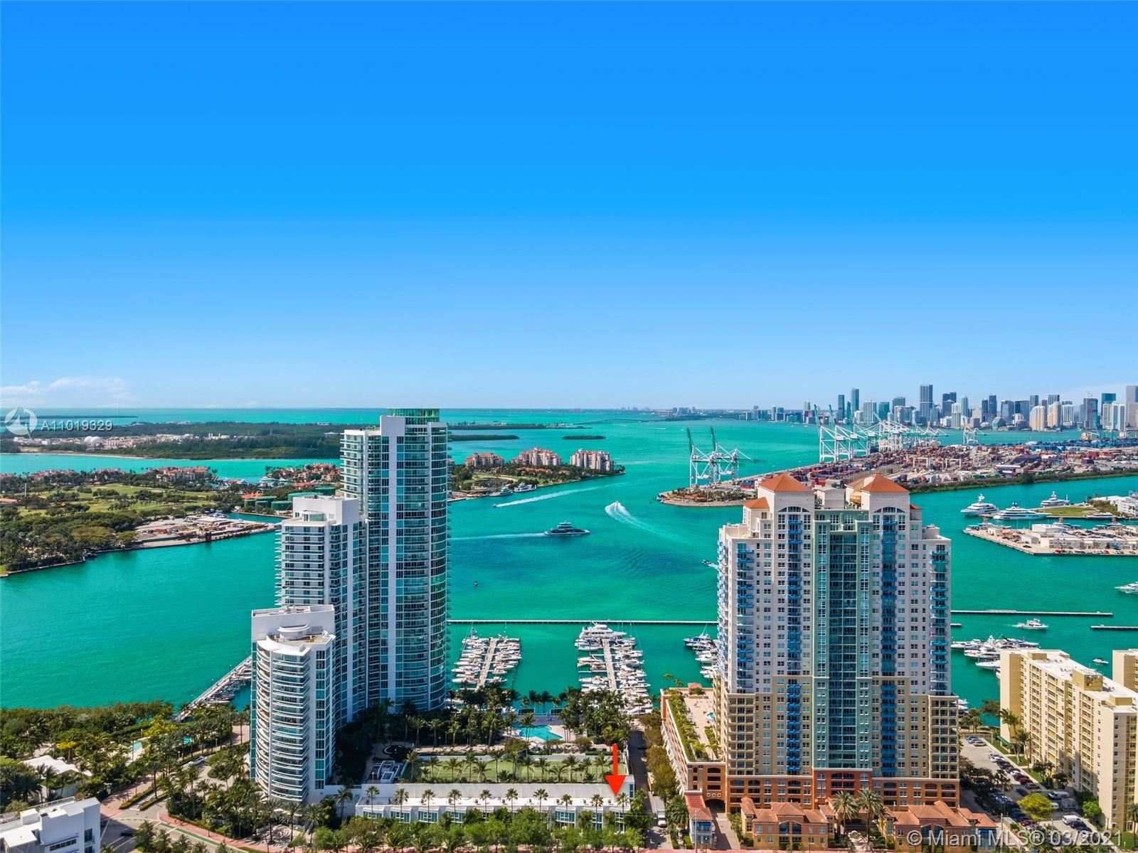1000 S Pointe Dr #TH-A10, Miami Beach, FL 33139 - #: A11019329