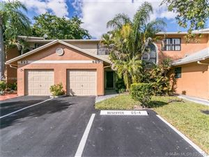 Photo of 630 NW 106th Ter #630, Pembroke Pines, FL 33026 (MLS # A10616330)