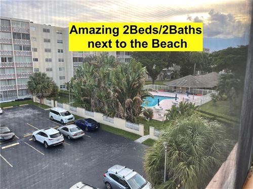 Photo of 1001 NE 14th Ave #402, Hallandale Beach, FL 33009 (MLS # A11113330)