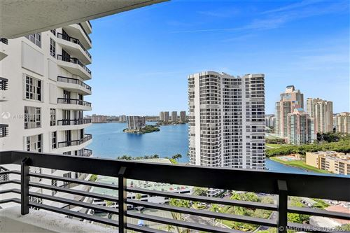 Photo of 3500 Mystic Pointe Dr #2403, Aventura, FL 33180 (MLS # A10930333)
