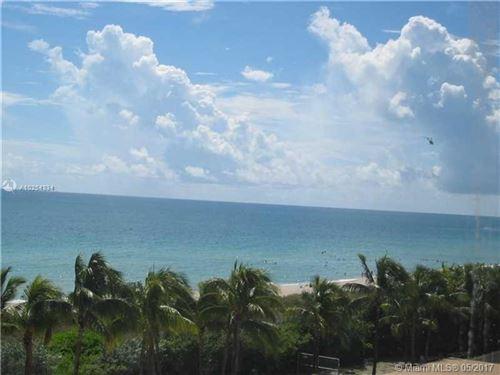 Photo of 5005 COLLINS AV #925, Miami Beach, FL 33140 (MLS # A10254334)