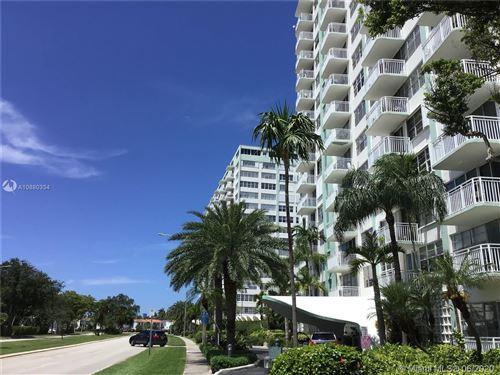 Photo of 2150 Sans Souci Blvd #A1110, North Miami, FL 33181 (MLS # A10880334)