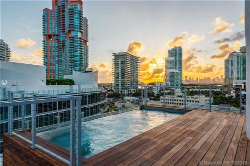 Photo of 1 Collins Avenue #707, Miami Beach, FL 33139 (MLS # A10378337)