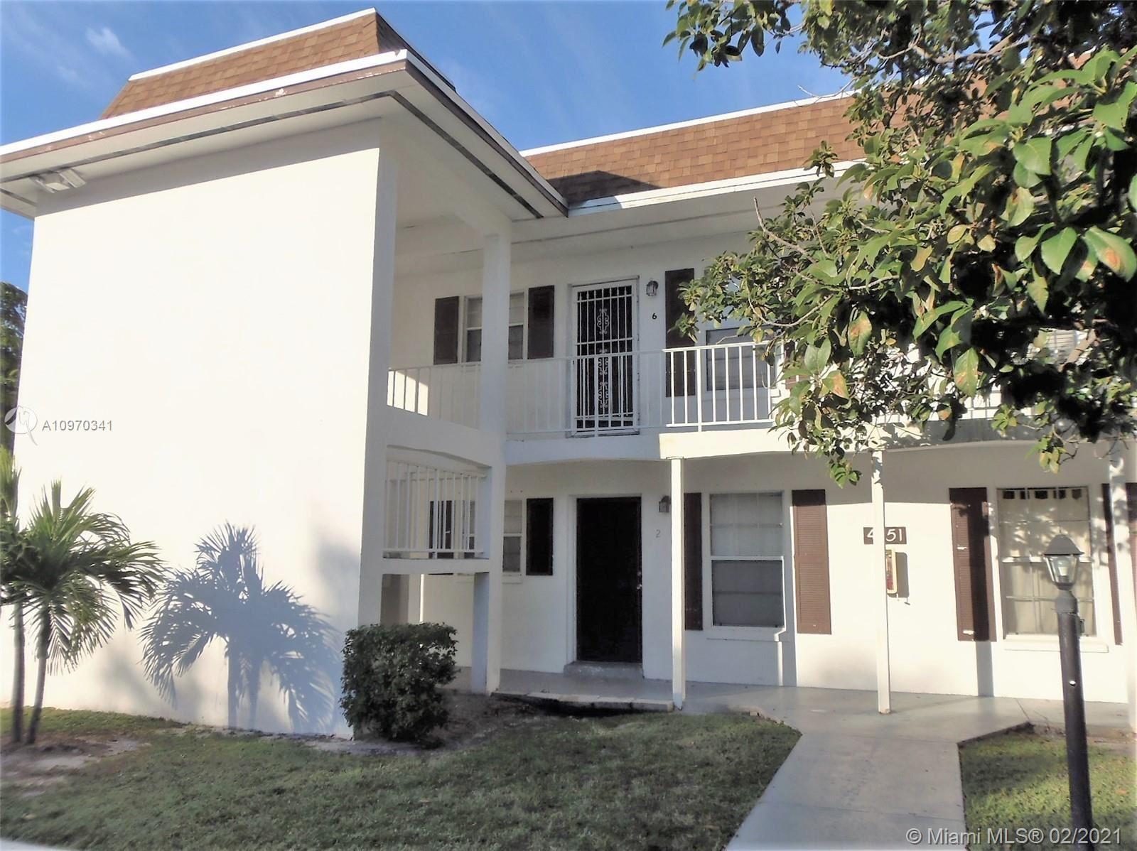 4951 Wedgewood Way #6, West Palm Beach, FL 33417 - #: A10970341