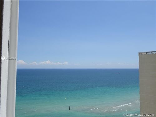 Photo of Listing MLS a10854342 in 3140 S Ocean Dr #1603 Hallandale Beach FL 33009