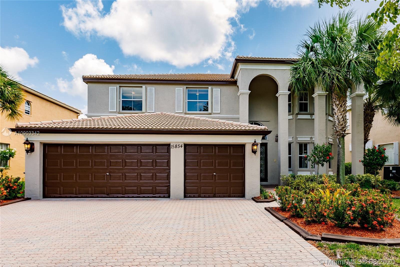 15854 SW 52nd St, Miramar, FL 33027 - #: A10903342