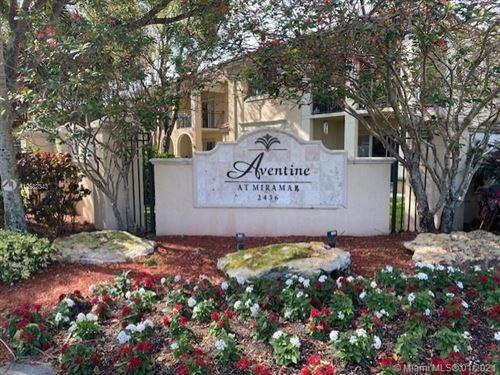 Photo of 2496 Centergate Dr #104, Miramar, FL 33025 (MLS # A10982343)
