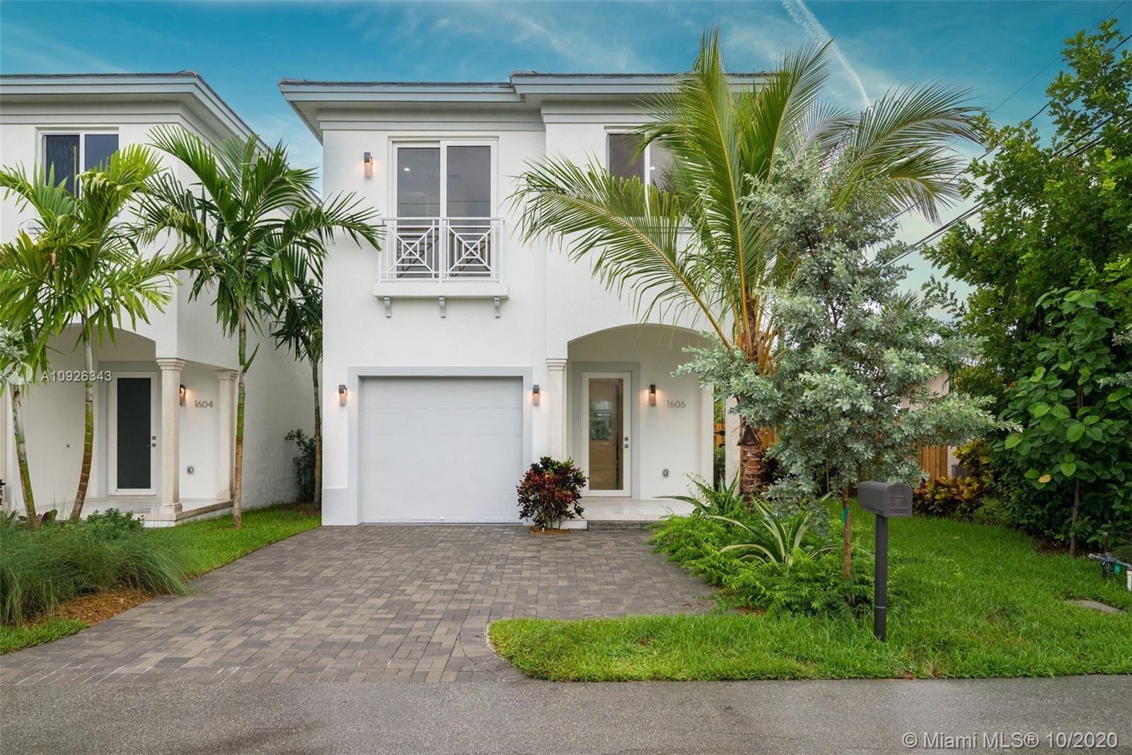 1606 Hayes St, Hollywood, FL 33020 - #: A10926343