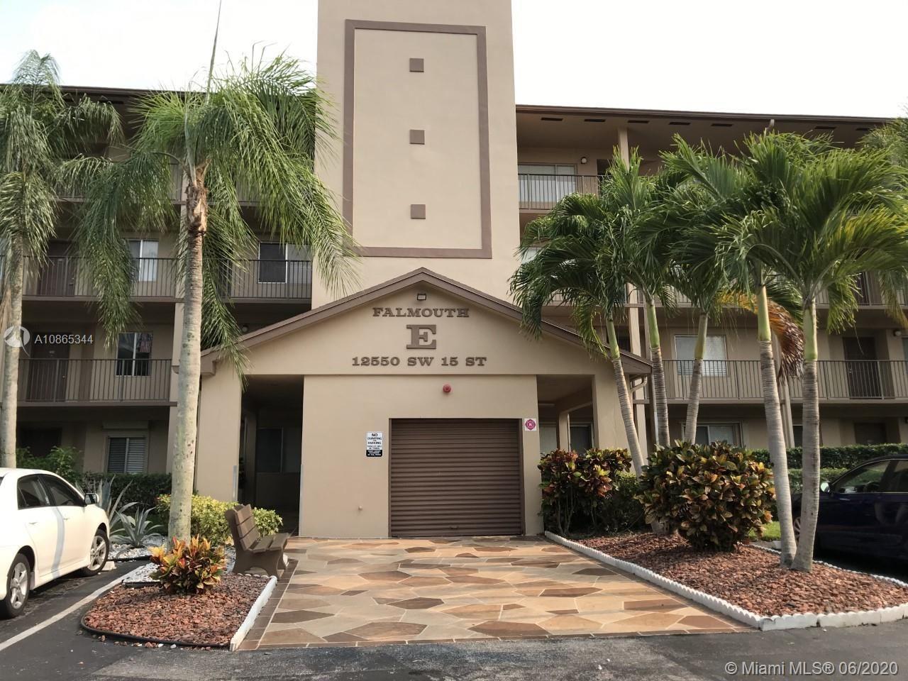 12550 SW 15th St #104E, Pembroke Pines, FL 33027 - #: A10865344