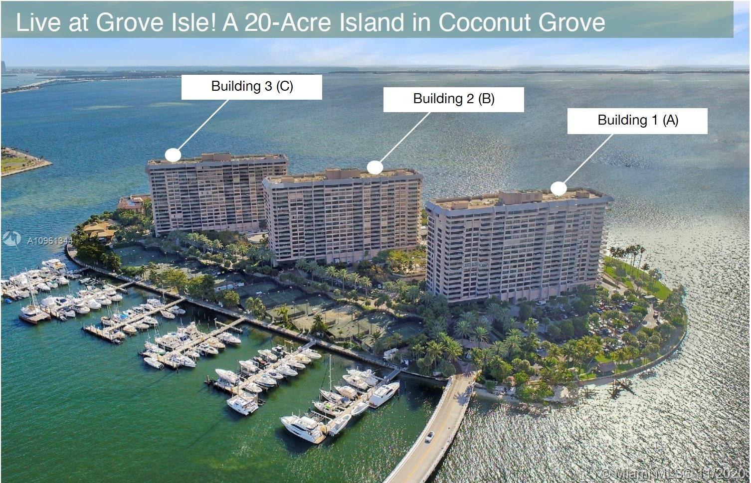 3 Grove Isle Dr #C303, Miami, FL 33133 - #: A10961344