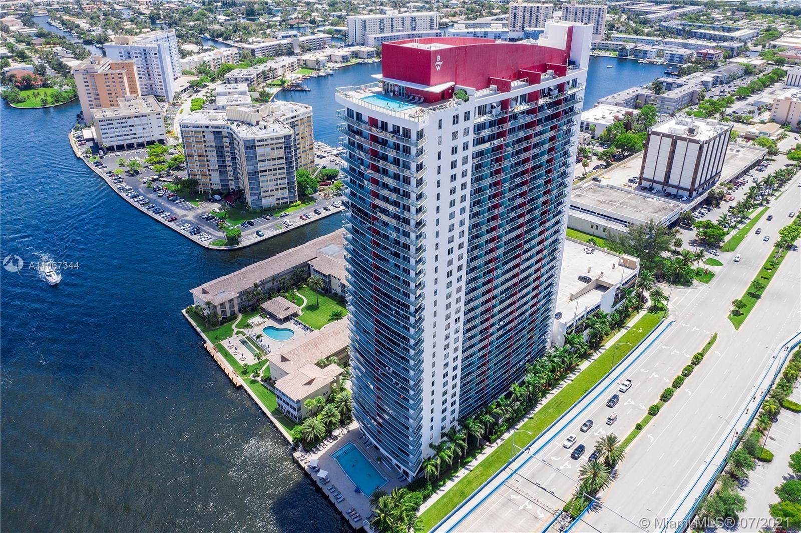 2602 E Hallandale Beach Blvd #R2503 A&B, Hallandale Beach, FL 33009 - #: A11067344