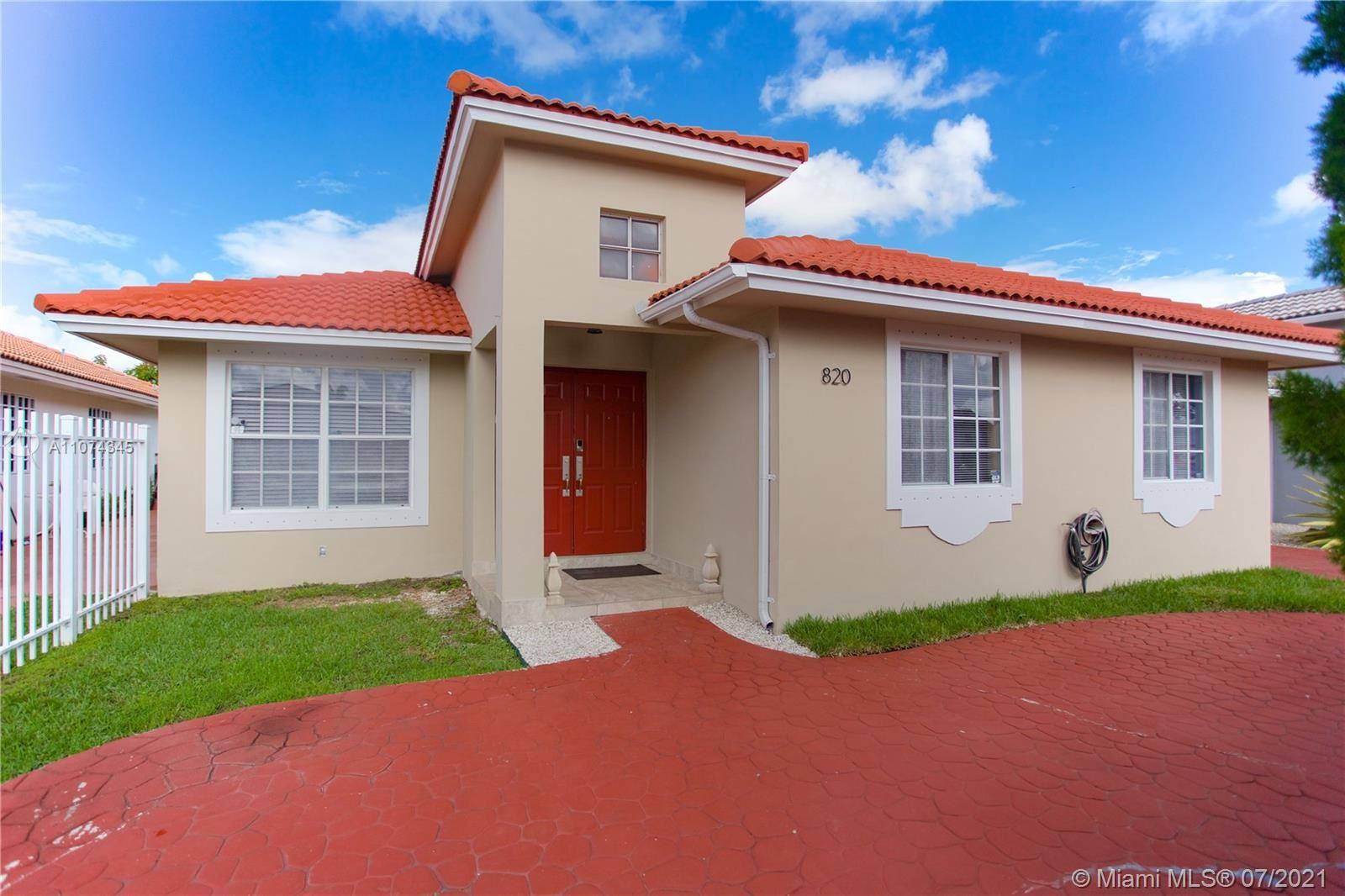 820 NW 135th Ct, Miami, FL 33182 - #: A11074345