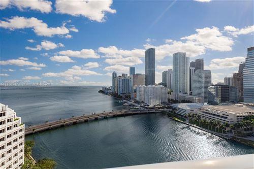 Photo of 701 Brickell Key Blvd #2301, Miami, FL 33131 (MLS # A11109347)