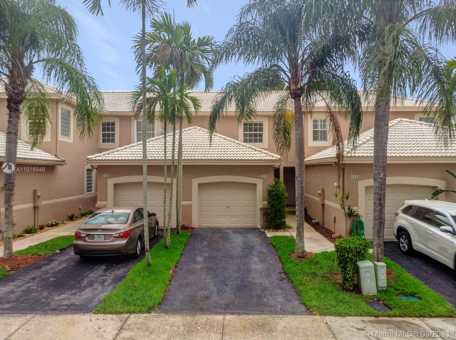 1880 Salerno Cir #1880, Weston, FL 33327 - #: A11019348