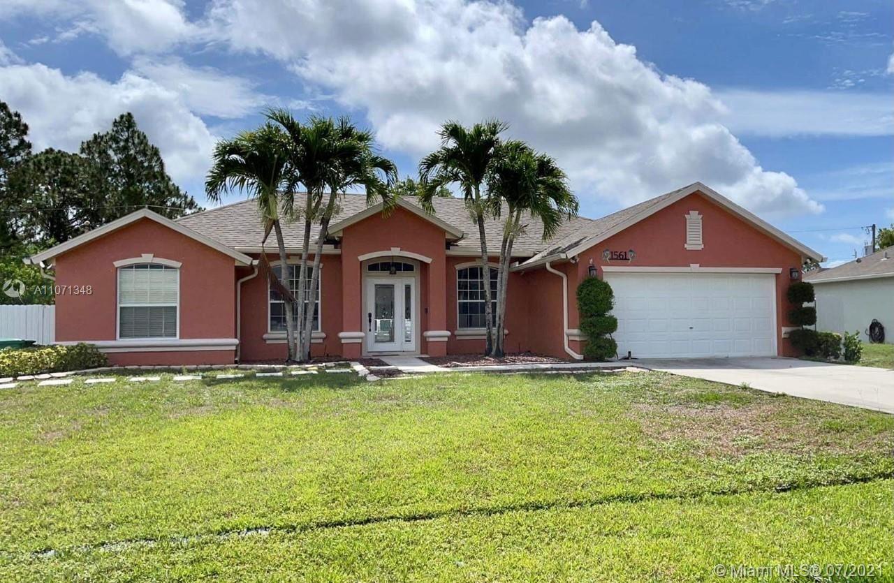 1561 SW Avens St, Port Saint Lucie, FL 34983 - #: A11071348