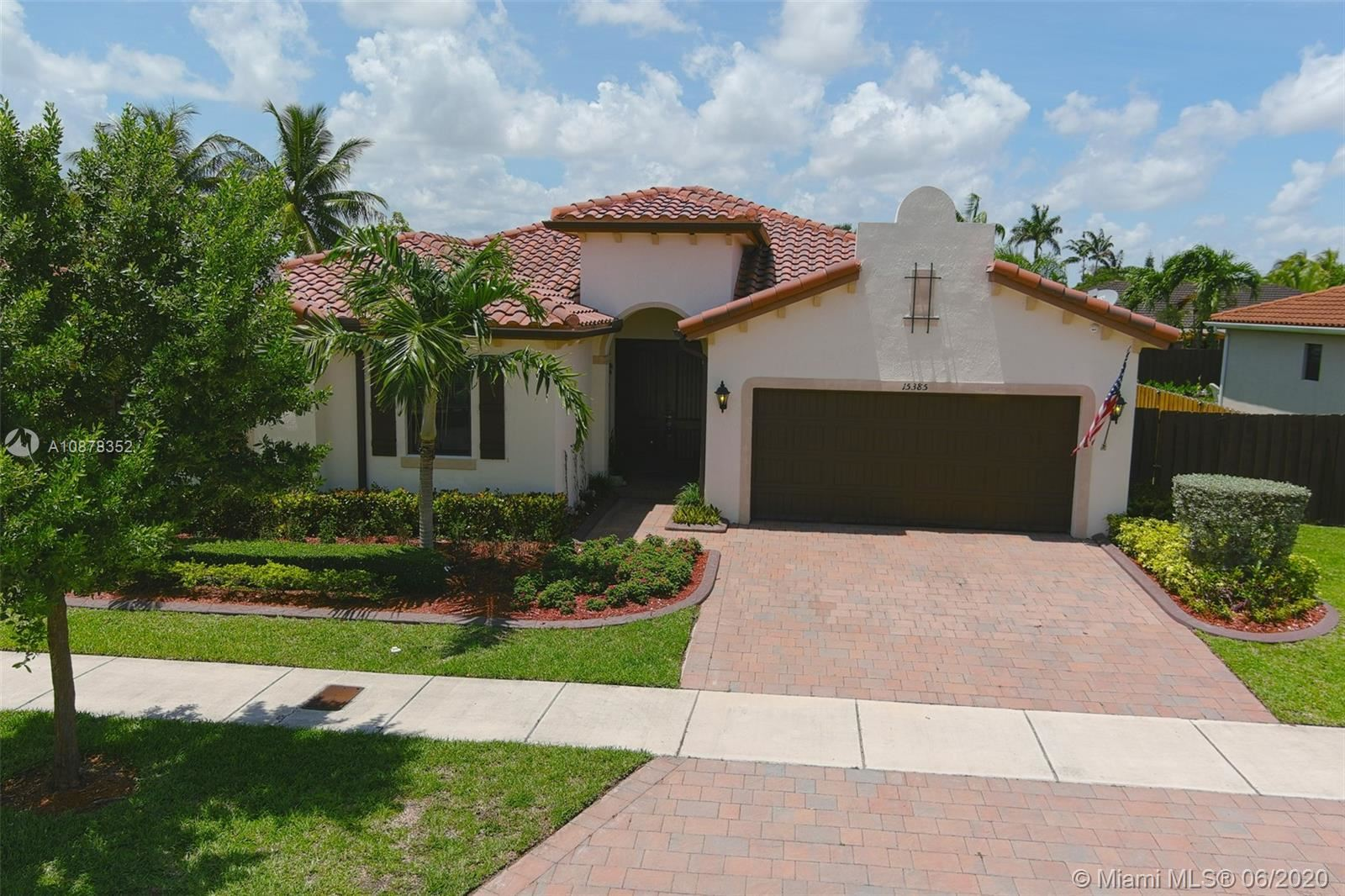 15385 SW 173rd St, Miami, FL 33187 - #: A10878352