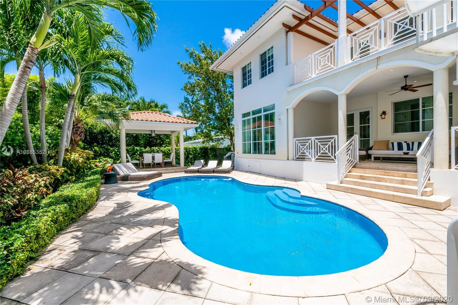 135 Woodcrest Ln, Key Biscayne, FL 33149 - #: A10885352