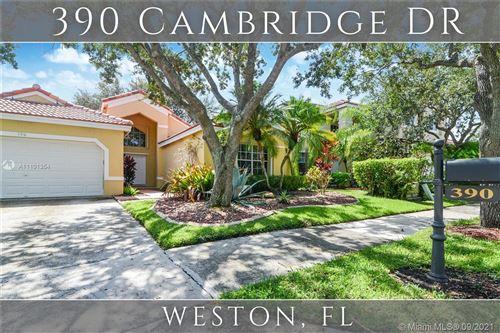 Photo of 390 Cambridge Dr, Weston, FL 33326 (MLS # A11101354)