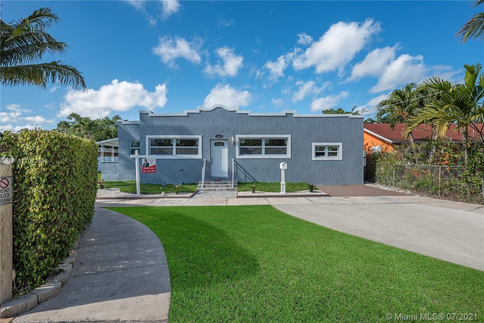 Photo of 469 NE 130th St, North Miami, FL 33161 (MLS # A11072354)