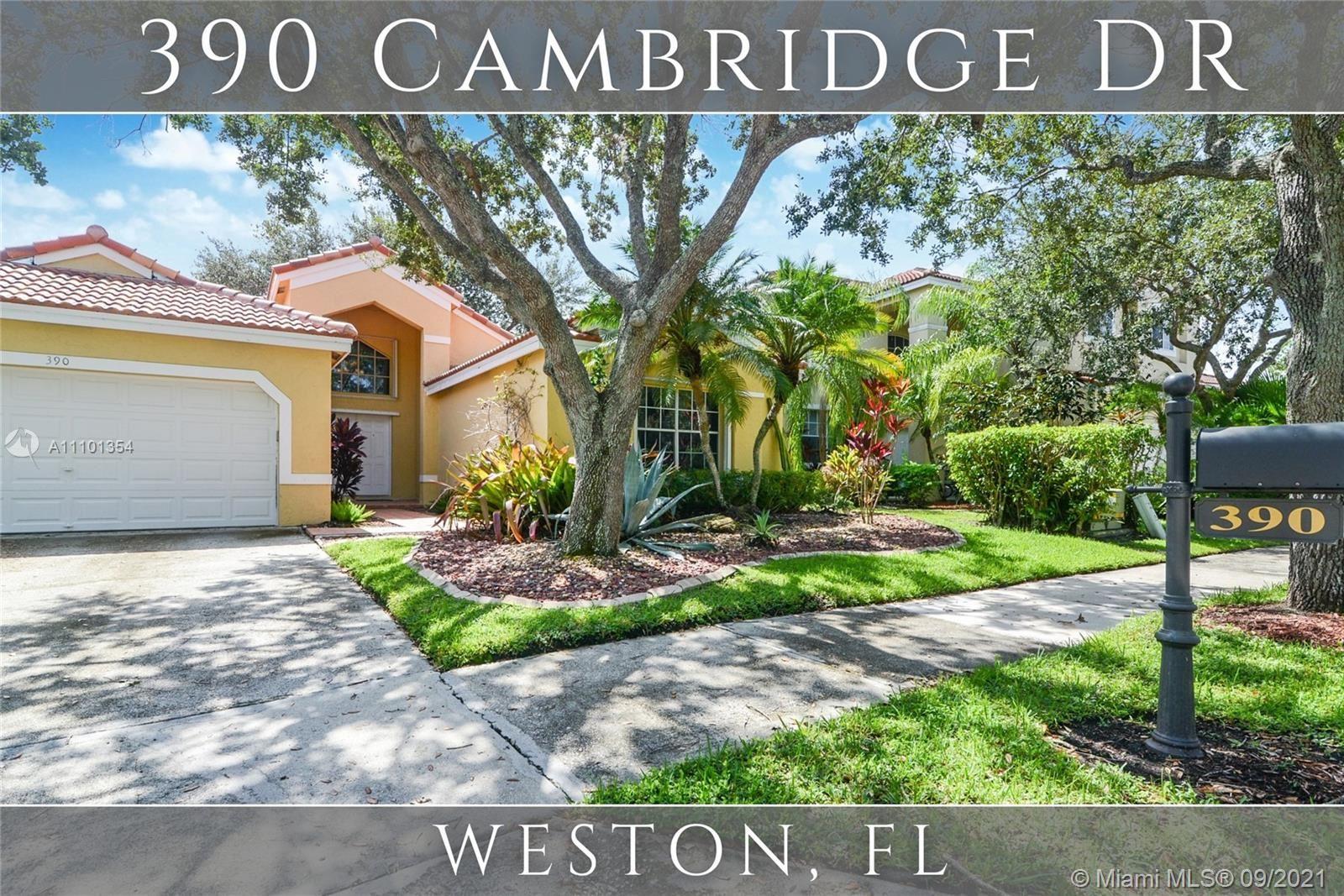 390 Cambridge Dr, Weston, FL 33326 - #: A11101354