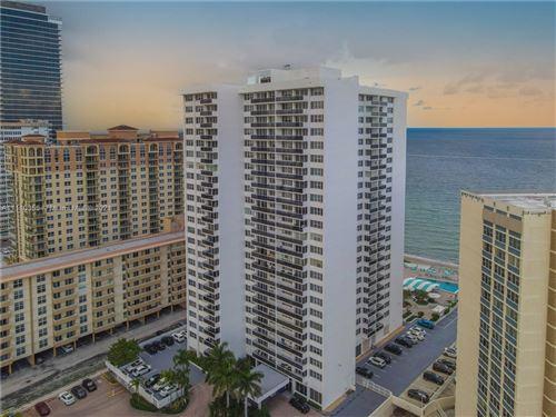 Photo of 3140 S Ocean Dr #201, Hallandale Beach, FL 33009 (MLS # A11110355)