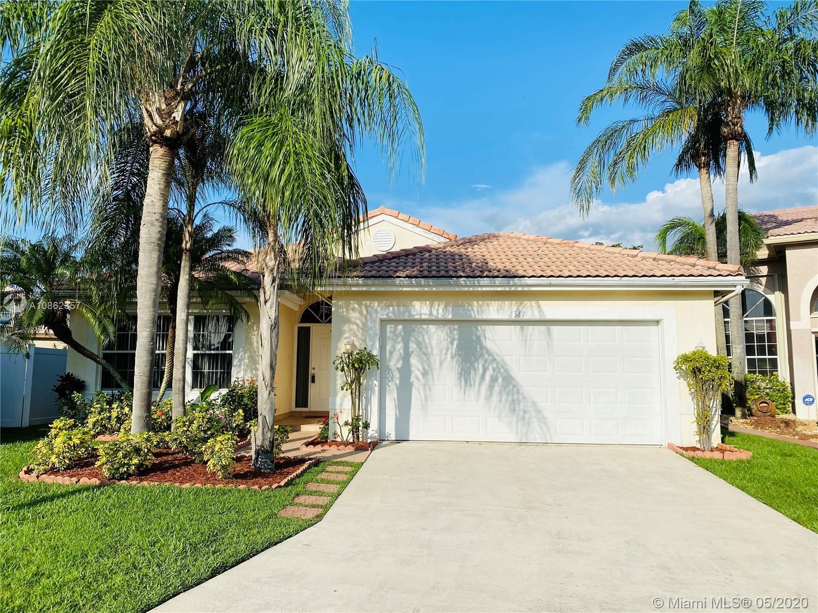 1347 SW 181st Ave, Pembroke Pines, FL 33029 - #: A10862357