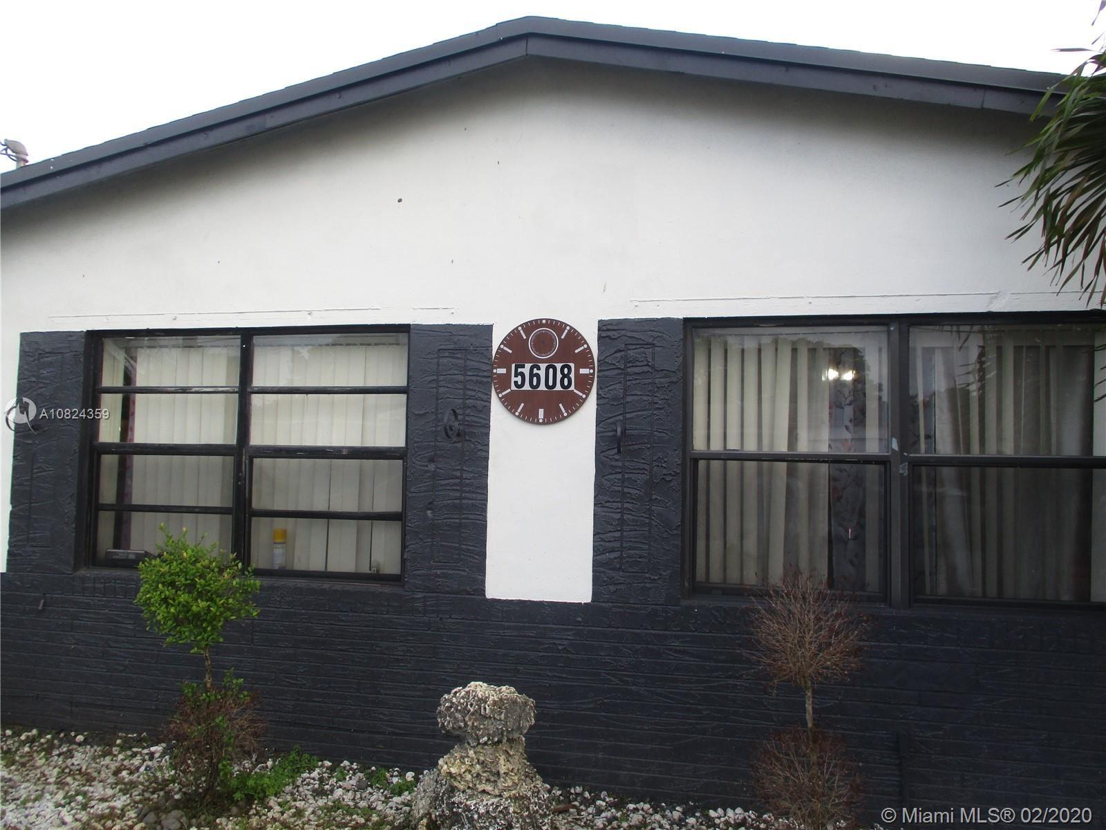 5608 Fletcher St, Hollywood, FL 33023 - #: A10824359