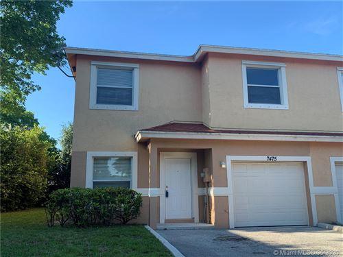Photo of Listing MLS a10850361 in 7475 Tam Oshanter Blvd North Lauderdale FL 33068