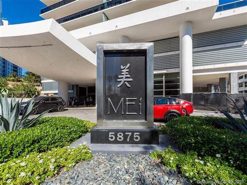 Photo of 5875 Collins Ave #1602, Miami Beach, FL 33140 (MLS # A11103361)