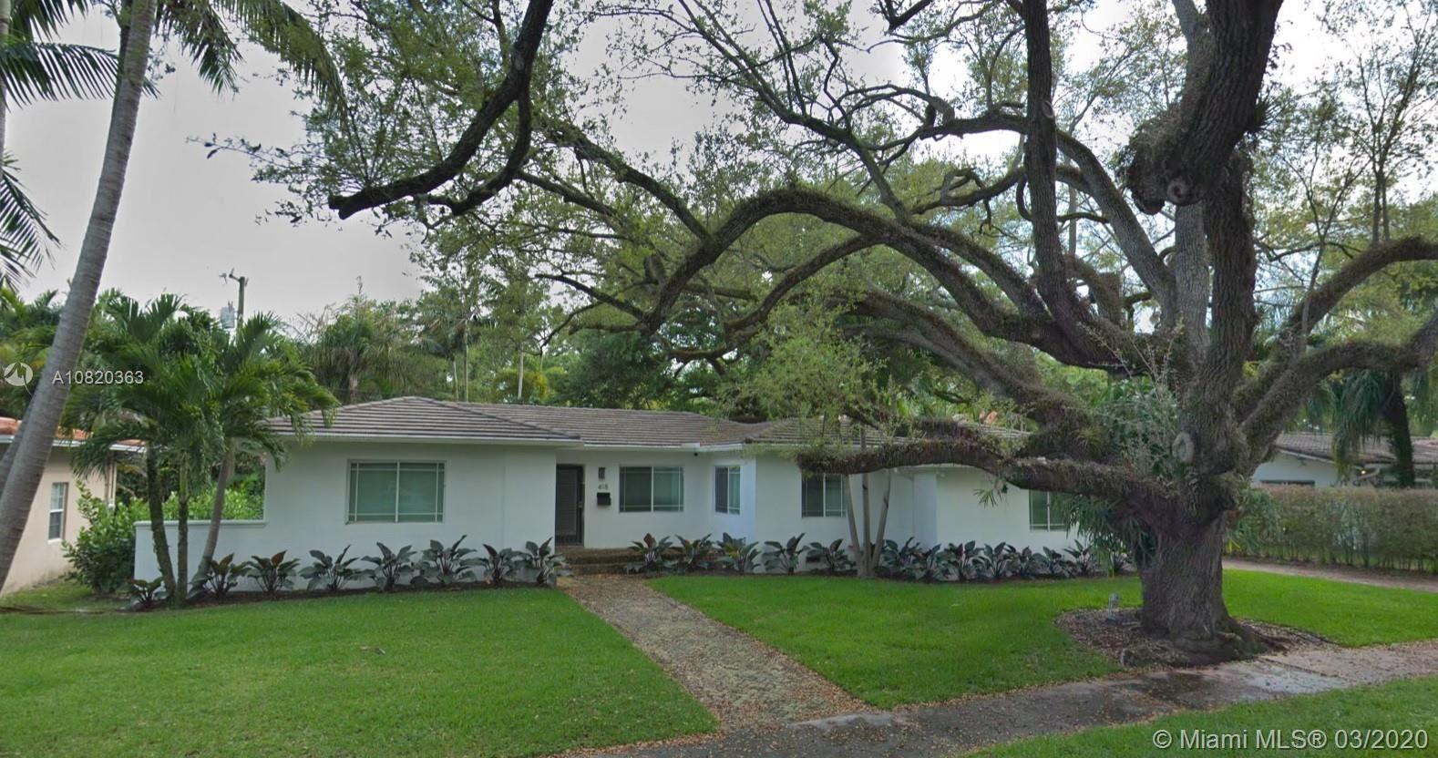 418 Castania Ave, Coral Gables, FL 33146 - #: A10820363