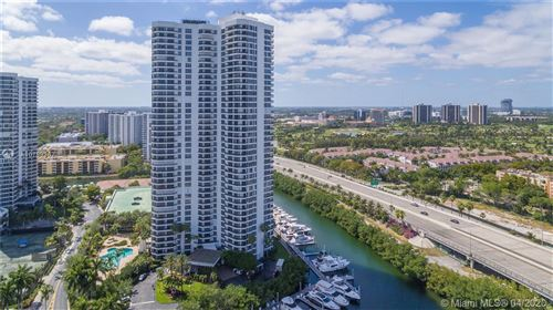 Photo of 3500 Mystic Pointe Dr #702, Aventura, FL 33180 (MLS # A10799367)