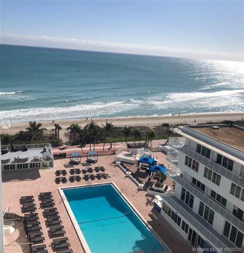 Photo of 5401 Collins Ave #912, Miami Beach, FL 33140 (MLS # A10909367)