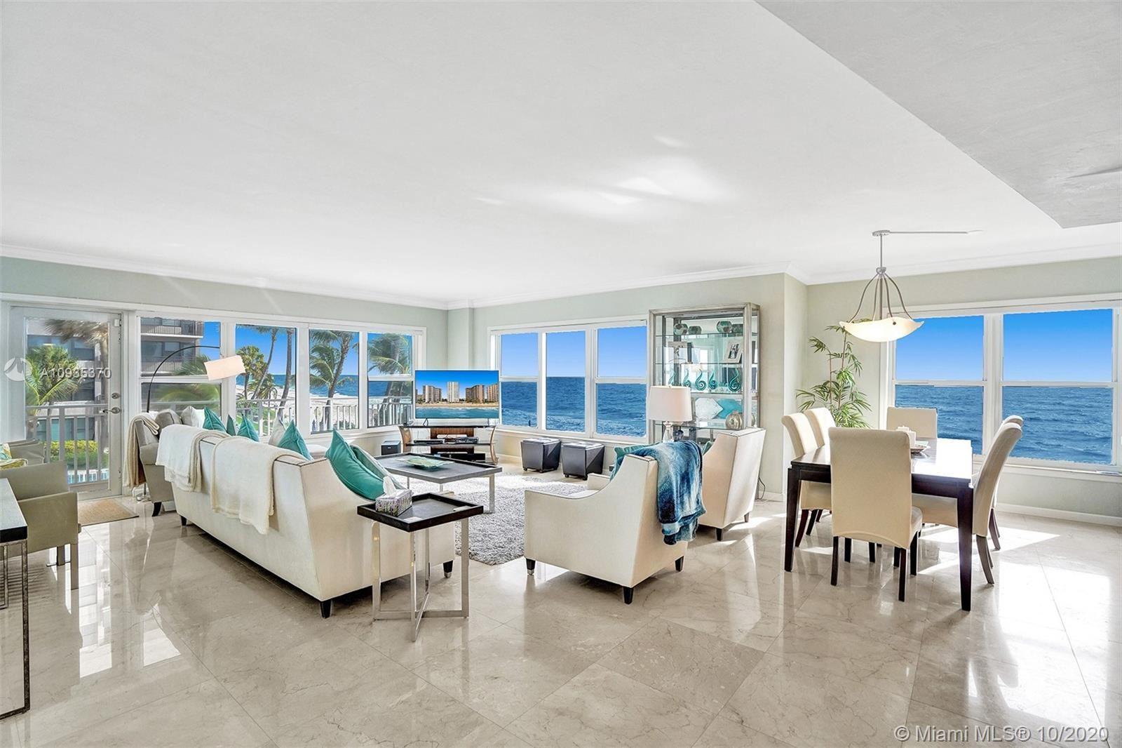 Photo of 3750 Galt Ocean Dr #211, Fort Lauderdale, FL 33308 (MLS # A10935370)